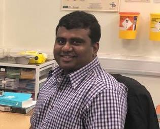 Image of Dr Raja Murugesan, MHCC Clinical Lead for Respiratory Medicine