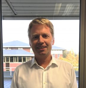 Nick Gomm, Director of Corporate Affairs