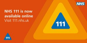 NHS 111 Online Advert