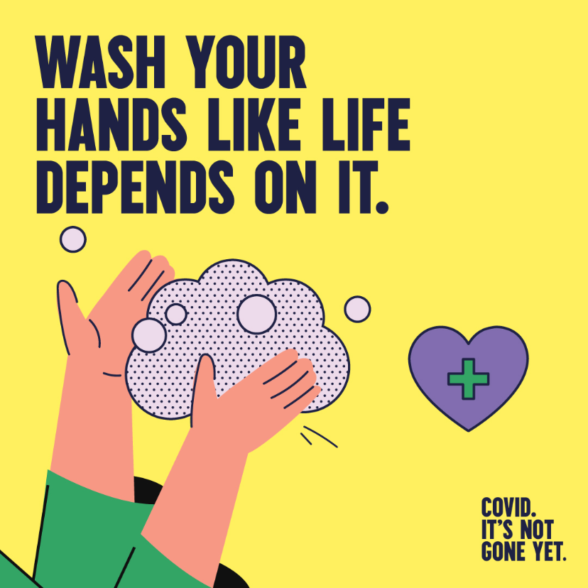 Wash your hands like life depends on it.